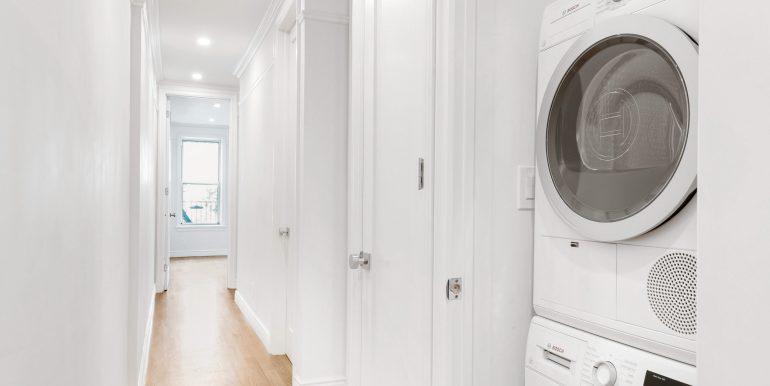 Washer Dryer Hallway